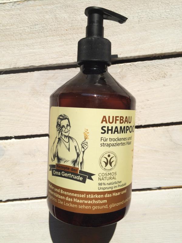 Szampon regeneracyjny dla włosów suchych i zniszczonych