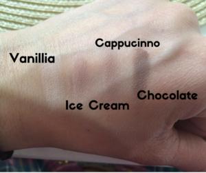 kolory cieni annabelle na ręce