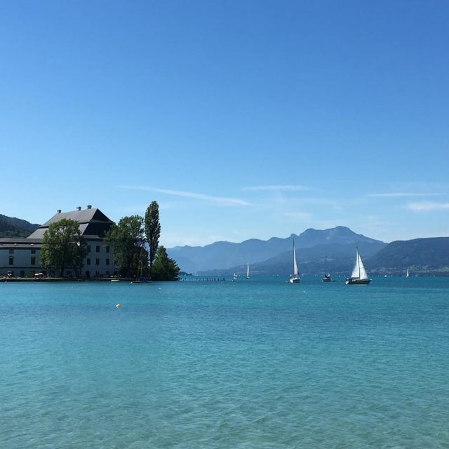 Niby jezioro ale oh my gad nofilter instaphoto austria atterseehellip