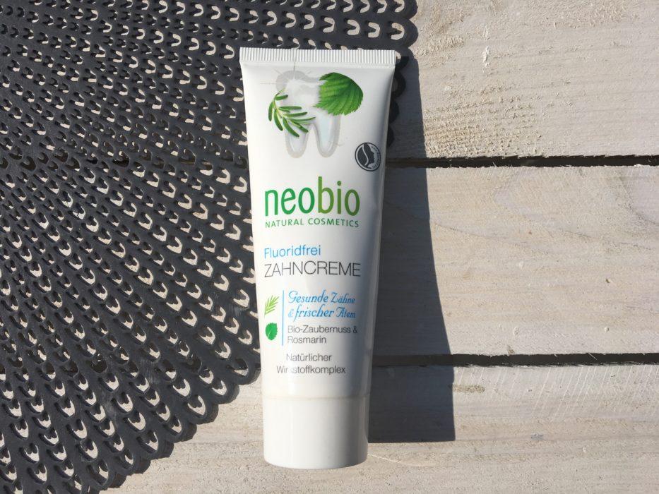 pasta do zębów bez fluoru Neobio