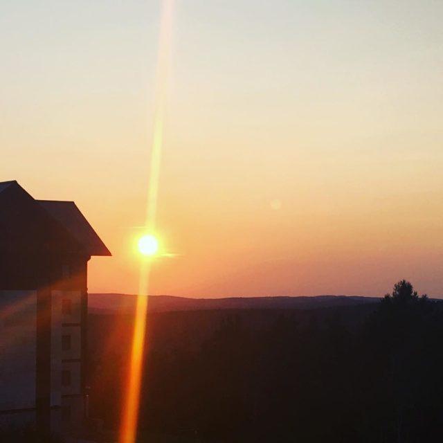 Ach te zachody Miego wieczoru sunset sun evening poland polishsunsethellip