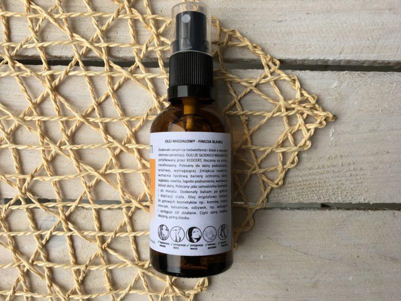 naturalny olej migdałowy