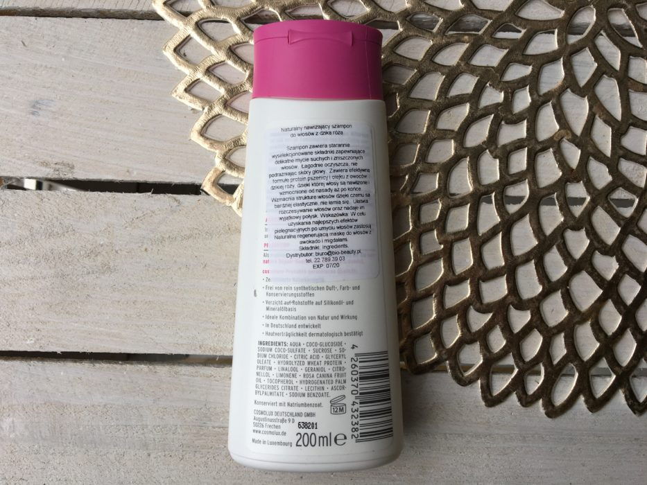 naturalny szampon do włosów cosnature