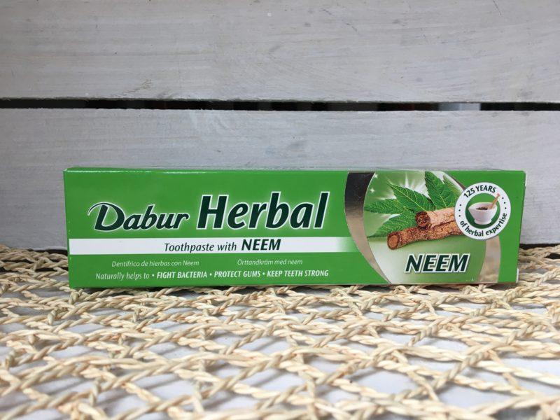 Pasta do zębów bez fluoru z Neem