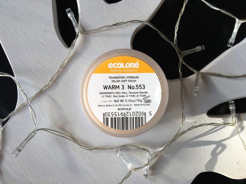 Mineralny podkład Ecolore Velvet Soft Touch