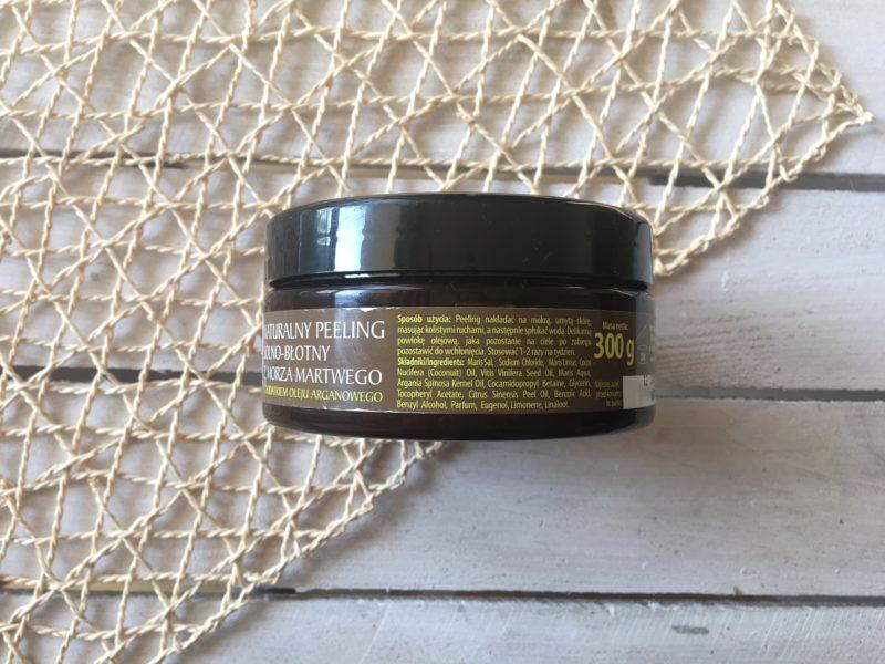 Naturalny peeling solno-błotny z Morza Martwego
