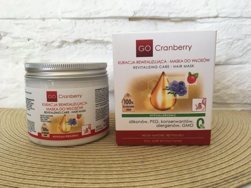 Masło do ciała i maska do włosów Go Cranberry