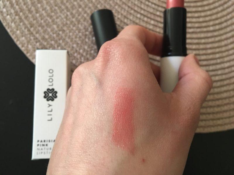 Naturalna szminka do ust Parisian Pink Lily Lolo