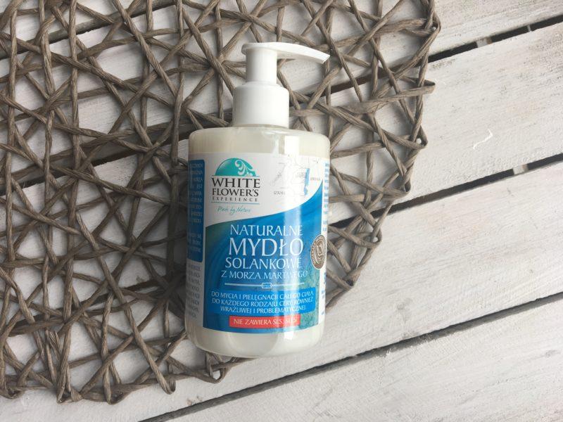 Naturalne mydło solankowe z morza martwego White Flowers