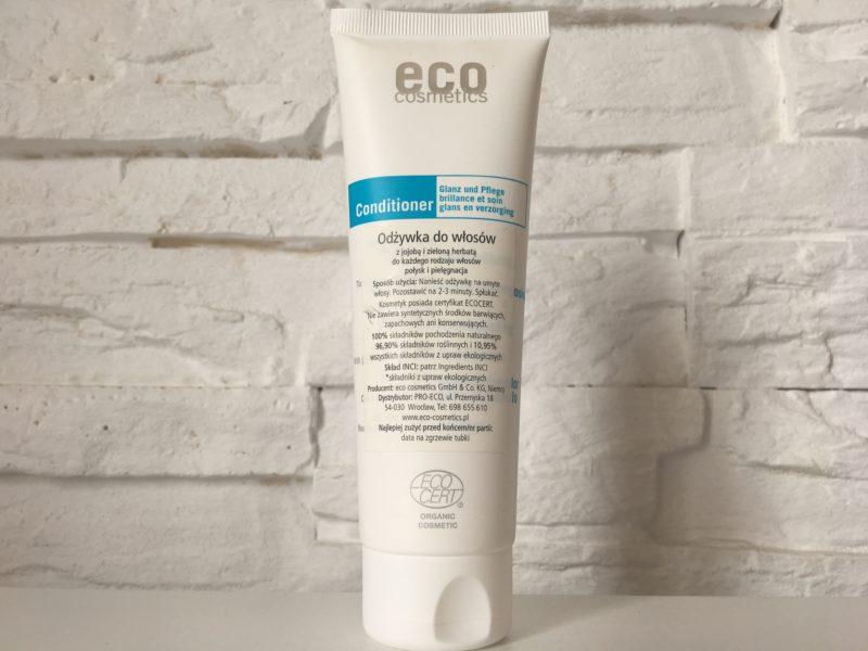 Odżywka do włosów z jojoba i zieloną herbatą Eco Cosmetics