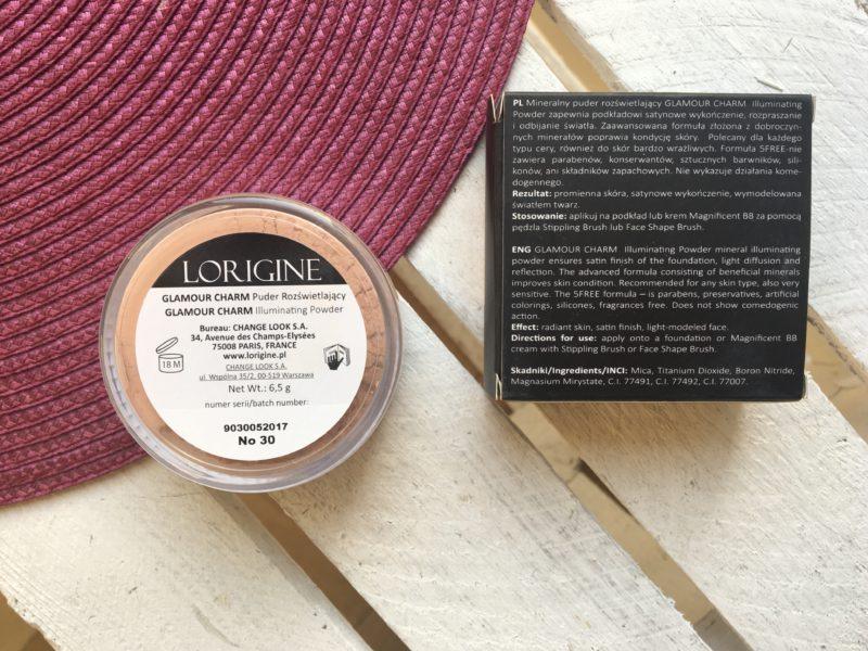 Mineralny rozświetlający puder Lorgine