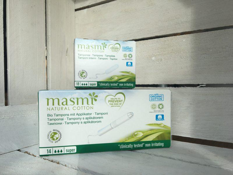 Ekologiczne tampony MASMI