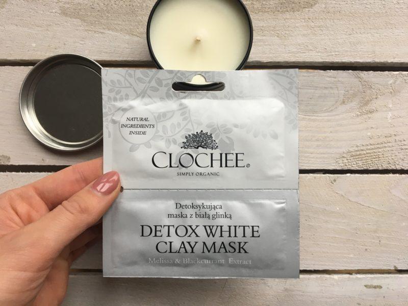 Maska z białą glinką CLOCHEE