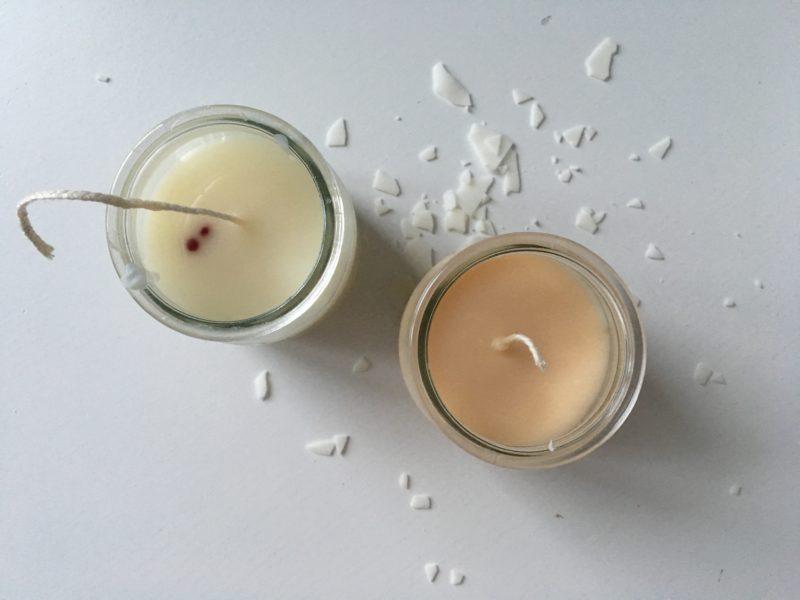 Sojowa świeca DIY