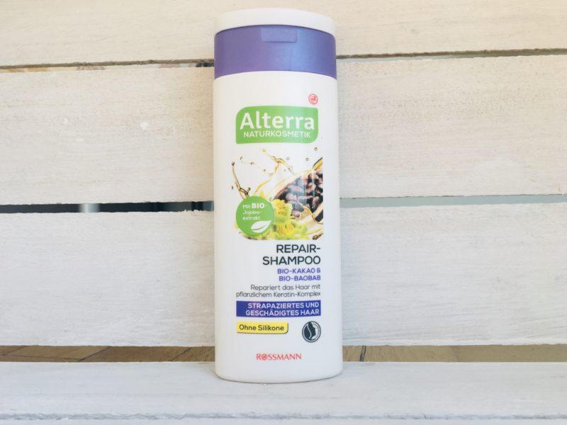 Szampon do włosów zniszczonych Alterra