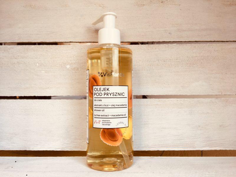 Olejek pod prysznic liczi+olej macadamia Vis Plantis